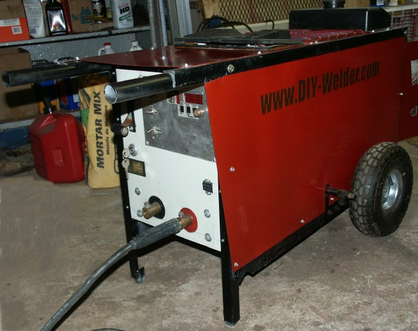 Build your own portable MIG/TIG/ARC welder